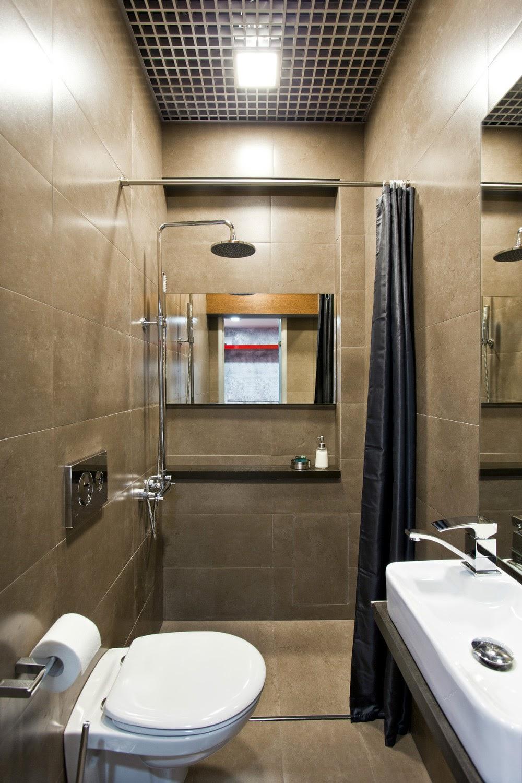 Дизайн проект туалета с душем 221