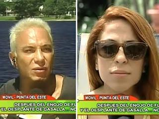 Flavio Mendoza enojado con Noelia Pompa!