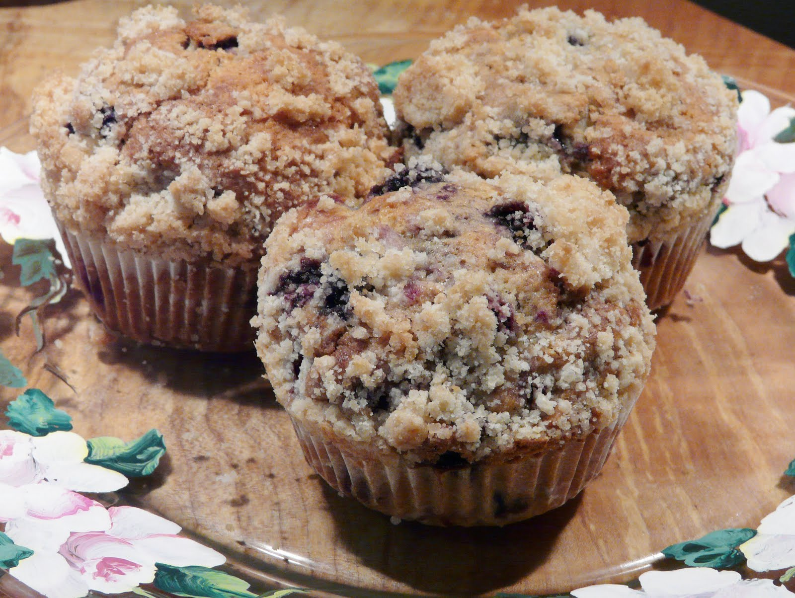Thibeault's Table: Browned Butter Blueberry Muffins