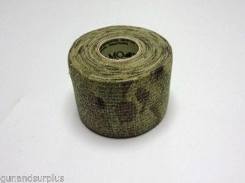 McNett Camo Form Tape Gun Self-Cling Wrap >ALL COLORS< Hunting Airsoft Paintball