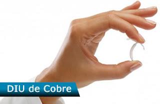 DIU de Cobre - método anticoncepcional