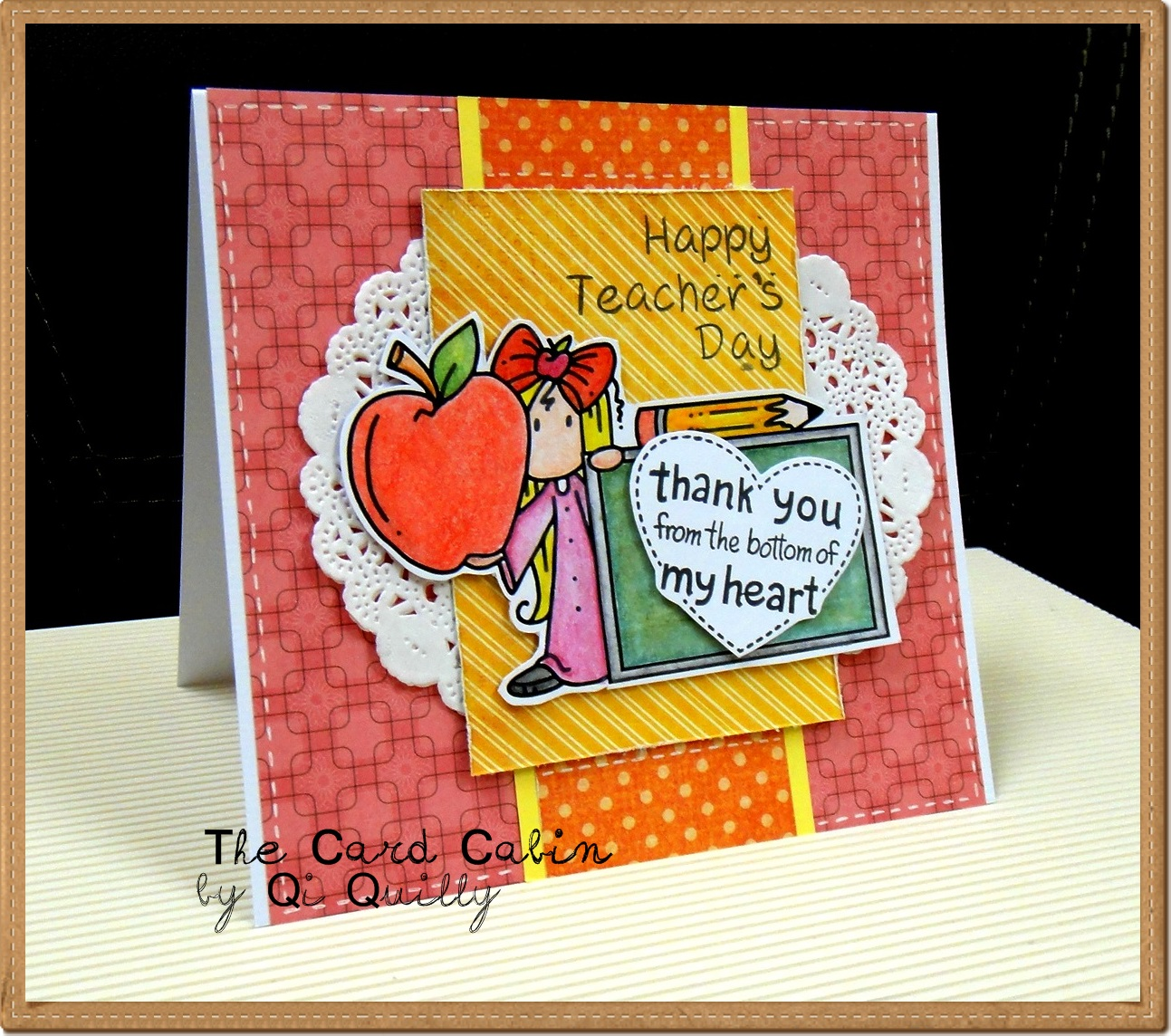 The card cabin by qi quilly happy teachers day happy teachers day m4hsunfo