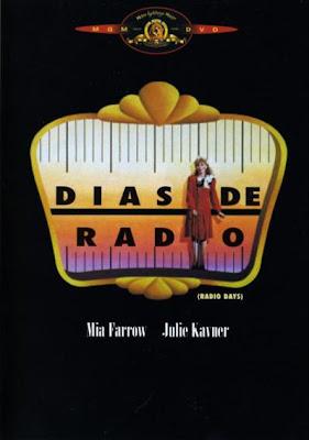 Cartel de la película Días de Radio, de Woody Allen
