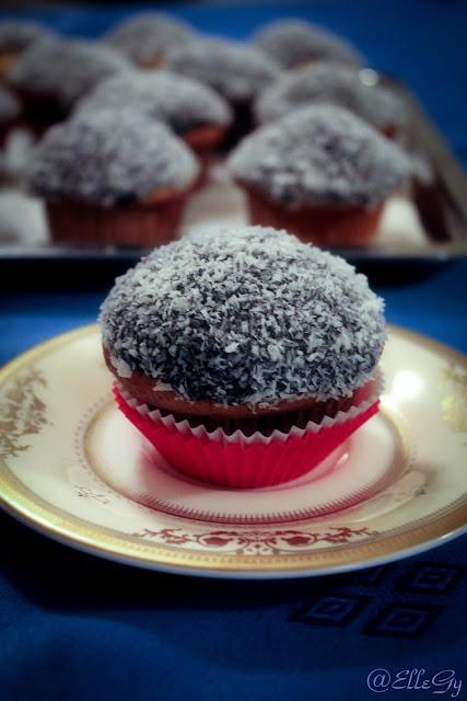 cocco+ciocco cupcake/chocolate coconut cupcakes