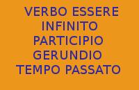 QUAL'È L'INFINITO, IL PARTICIPIO E IL GERUNDIO AL TEMPO PASSATO DEL VERBO ESSERE IN ITALIANO ?