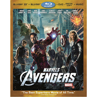 Marvel Avengers DVD Blu Ray