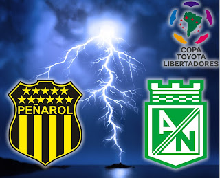 Partido Peñarol Vs Atlético Nacional - Copa Libertadores