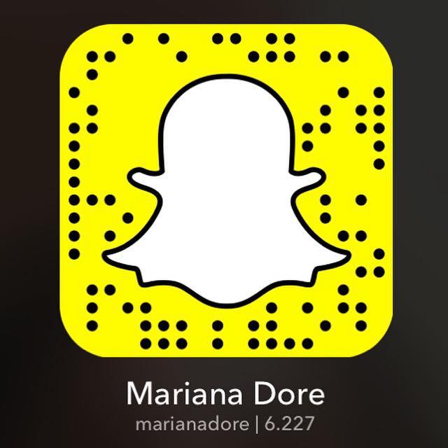 Snapchat: marianadore