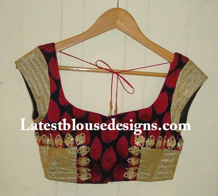 mega sleeves blouse designs