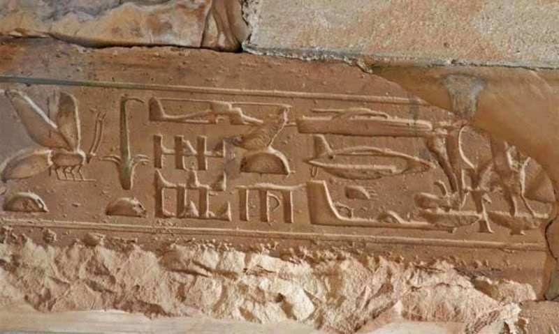 Ancient Art Depicts Dinosaurs, Flying Aircrafts and Helicopters