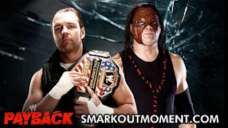 WWE Payback US Title Match Dean Ambrose vs Kane Match Online