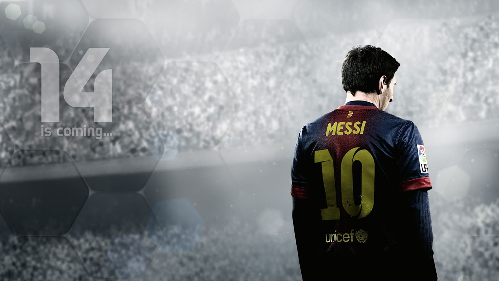 FIFA 14 Lionel Messi Wallpaper HD