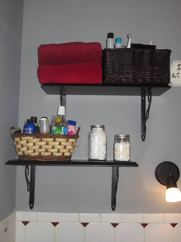 Small Bathroom Storage Solution title=