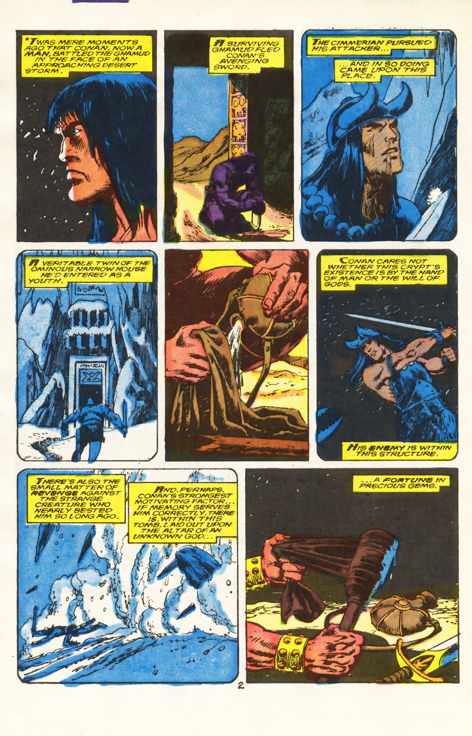 Conan the Barbarian (1970) Issue #212 #224 - English 3