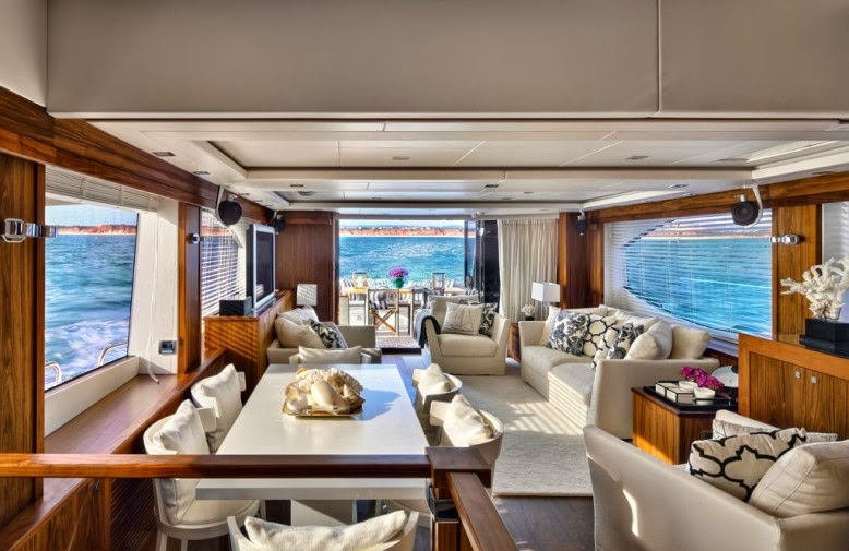 luxury boat interior design