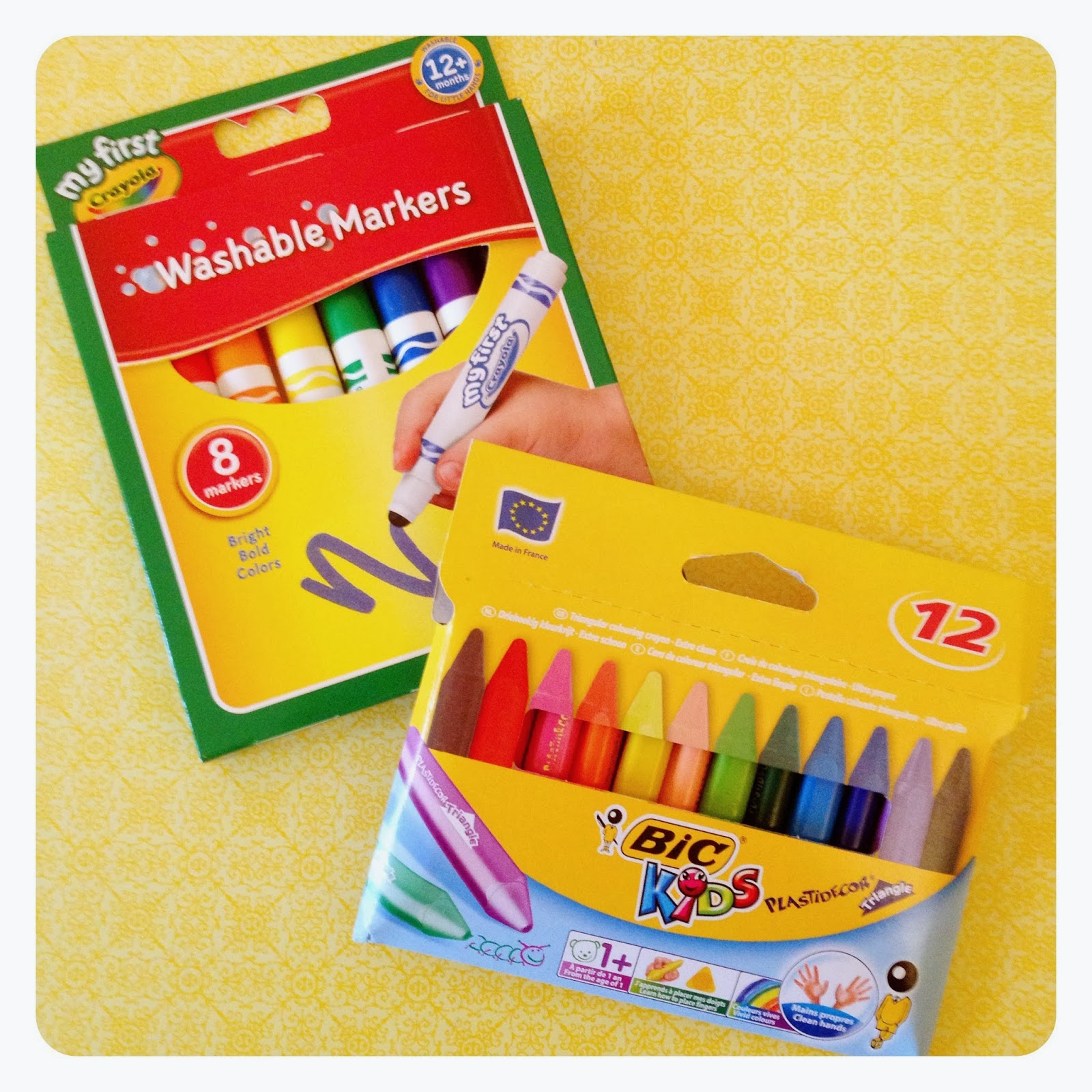 mamasVIB | V. I. BUSY BEES: Art Attack…the Crayola pieces every little budding artist needs, V. I. BABY ART | Art Attack | my first crayola | art materials for toddlers | first crayons and pencils | baby art | mamaVIB