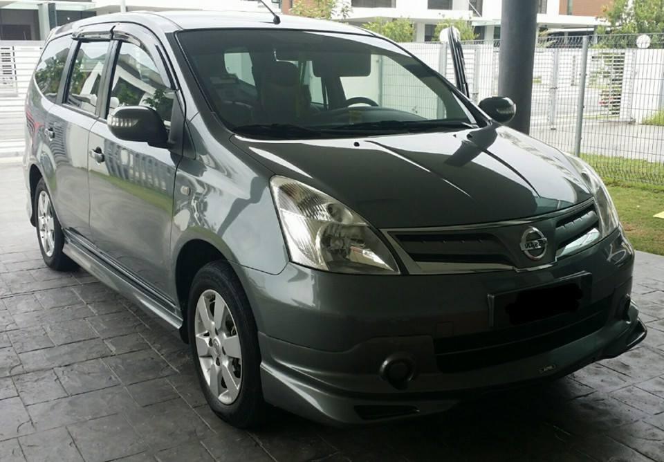 Nissan Grand Livina sewa - MPV