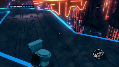Saints Row the Third toilet