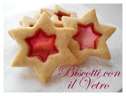 Biscotti Di Natale Effetto Vetro.Pane Marmellata Biscotti Con Il Vetro