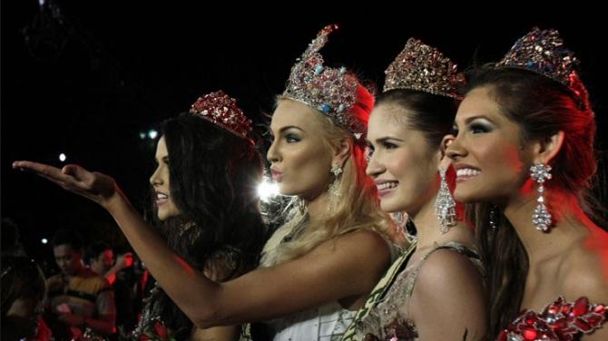 Miss Earth 2012 winner Tereza Fajksova