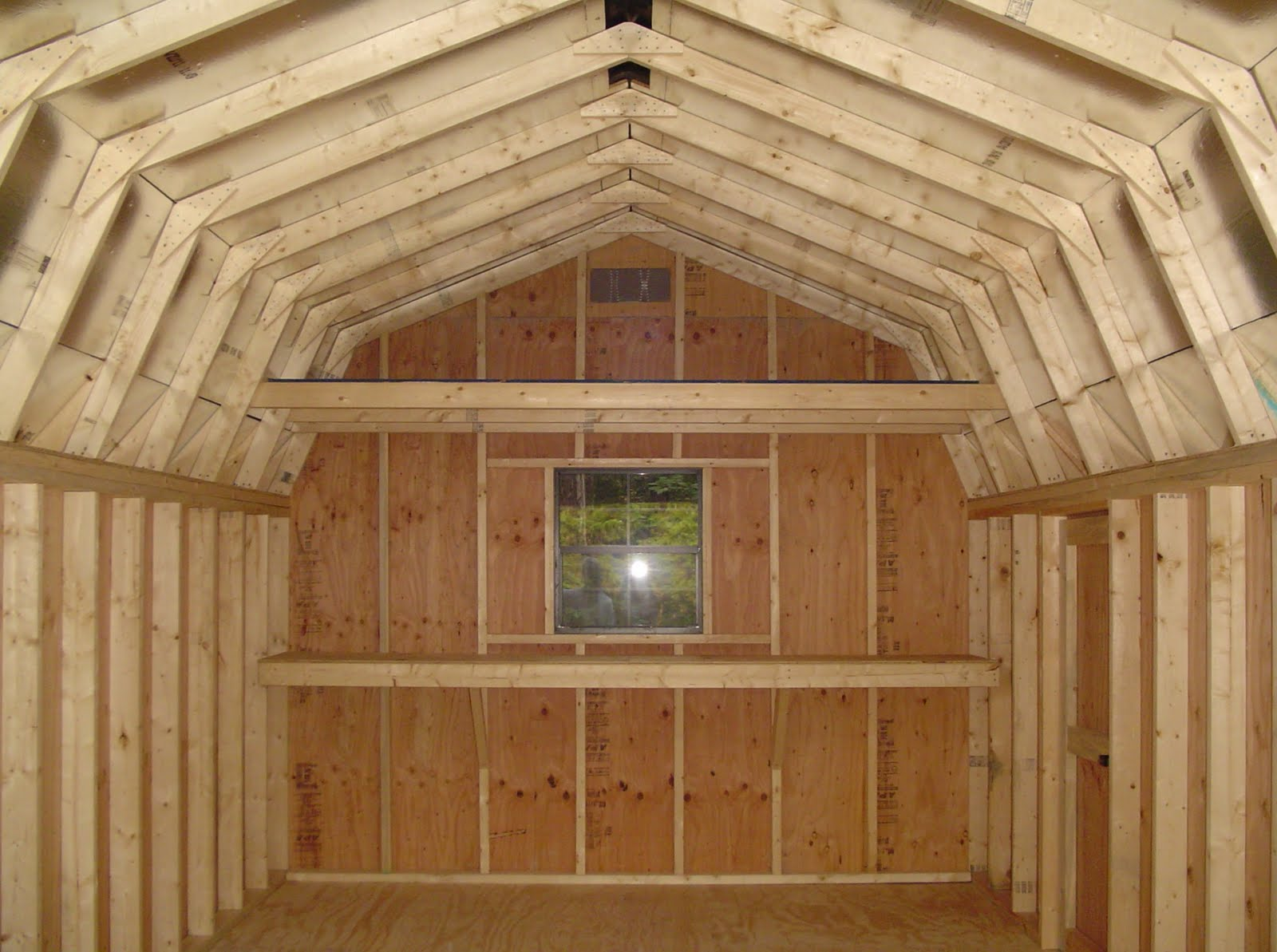 DIY Storage Building Plans With Loft Download storage bed frame plans ...