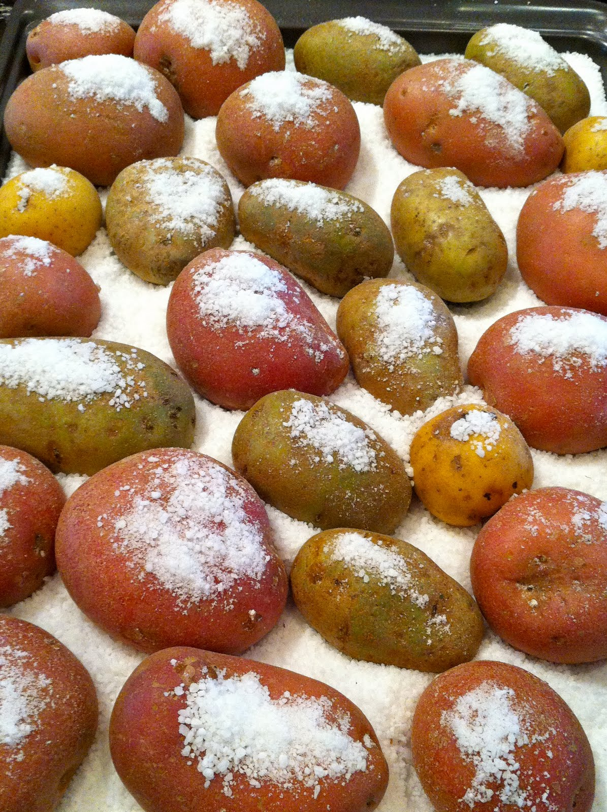 Fit Chef Lindsey Crouch: Rock Salt-Roasted Potatoes ...