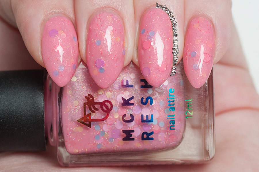 Mckfresh Nail Attire W.C.D.M.C from the Ooo - Friends Adventure Time collection based off Princess Bubblegum!