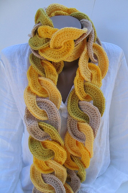 new crochet scarf patternsKnitting Gallery Crochet Scarf Instructions