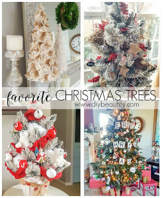 Favorite Christmas trees from diy beautify!