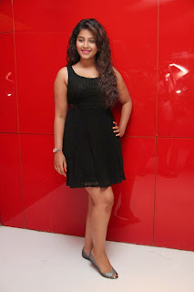 Anjali Latest  Pictures in Short Dress at Kayal Movie Audio Launch ~ Celebs Next
