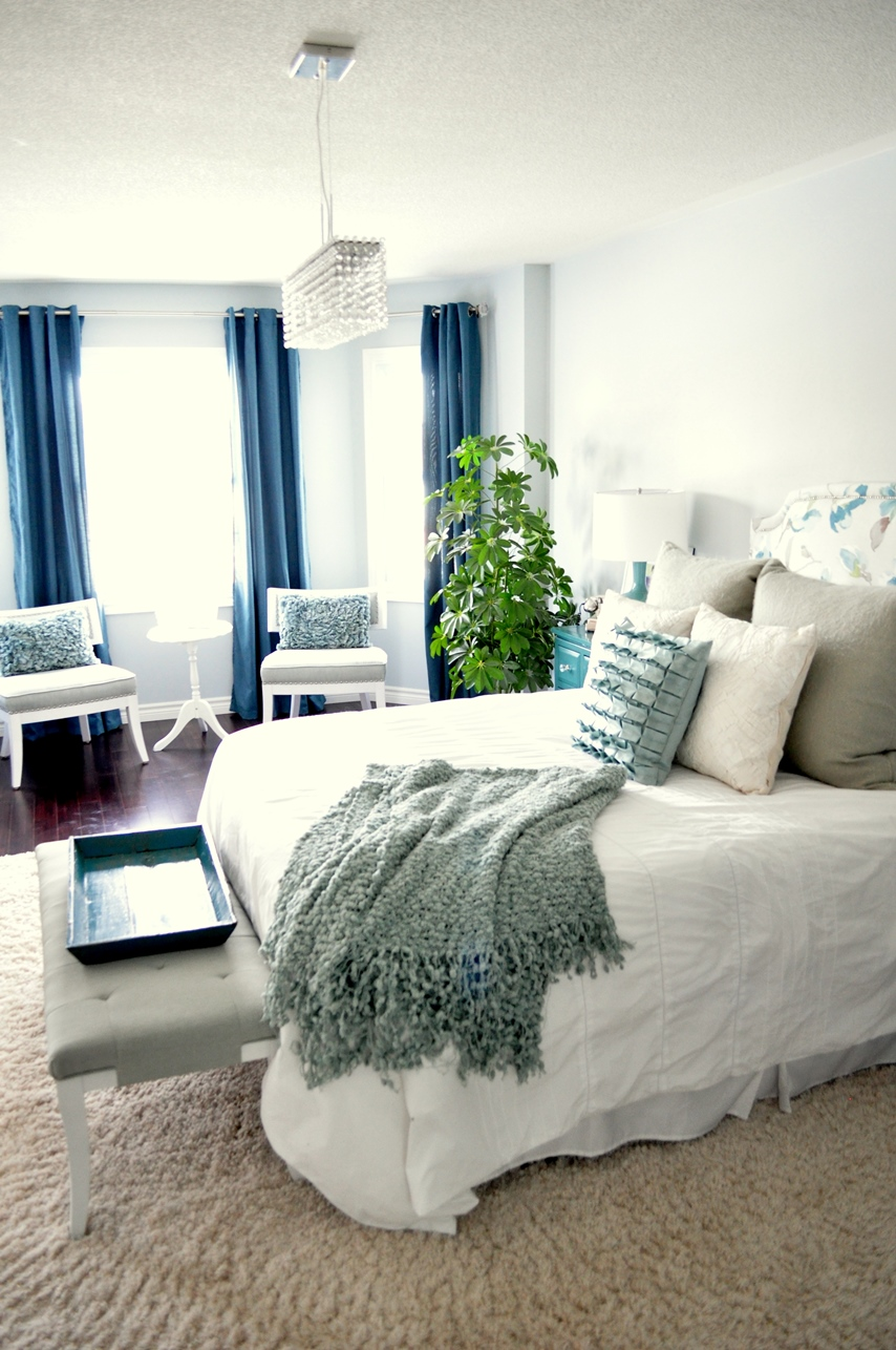 living beautifullyone (diy) step at a time: master bedroom reveal