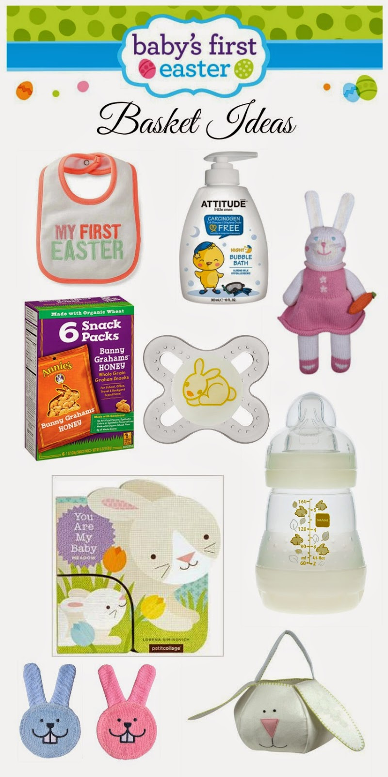 Nanny to mommy babys 1st easter basket ive compiled a list that i think would have been great for not only him but really any babys first easter negle Images