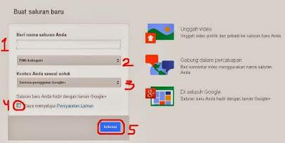 Cara Membuat Channel Youtube Dengan Mudah