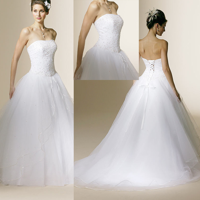Elegant Wedding: All About The Wedding Celebration: Elegant Bridal Gown