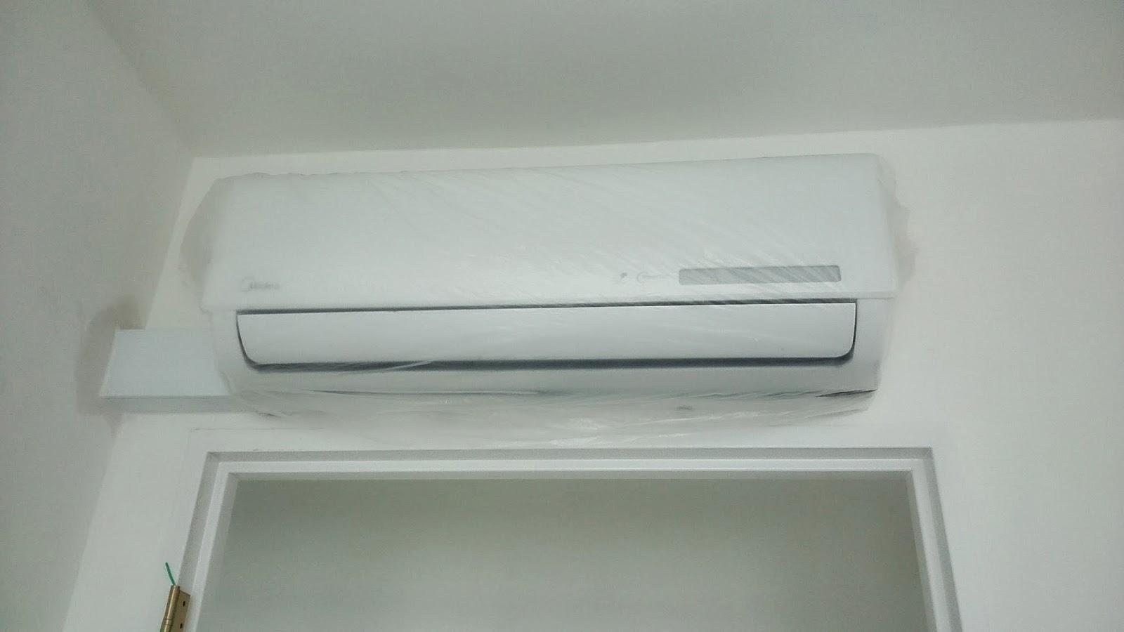 DIY renovation!: Midea Air conditioner installation day #595136