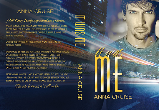 COVER REVEAL: It Was Me by Anna Cruise