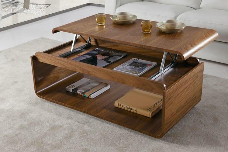 Muebles de sala mesas de centro decoraci n de dormitorios - Mesas centro elevables y extensibles ...