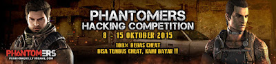 Cheat Phantomers Hacking Competition Buat para programmer, software engineer dan player