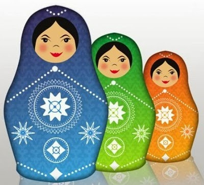 Design Babushka Dolls in Illustrator and Photoshop