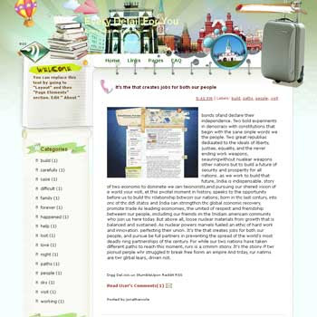 Every Detail For You Blogger Template. free download template blogspot