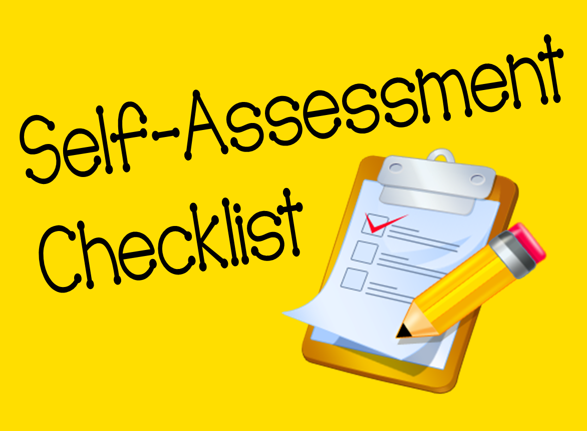 essays on self assessments Self-evaluation essaysi spent a great deal of time uncovering the most effective  evidence to support my claim when i was assigned to this speech, i did some.