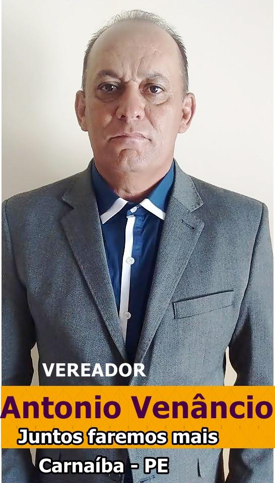 Vereador Antonio Venâncio