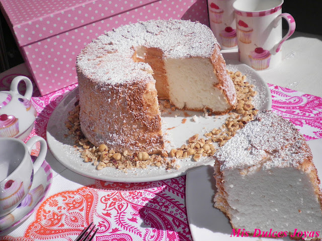 Angel Food Cake (Bizcocho de ángel)