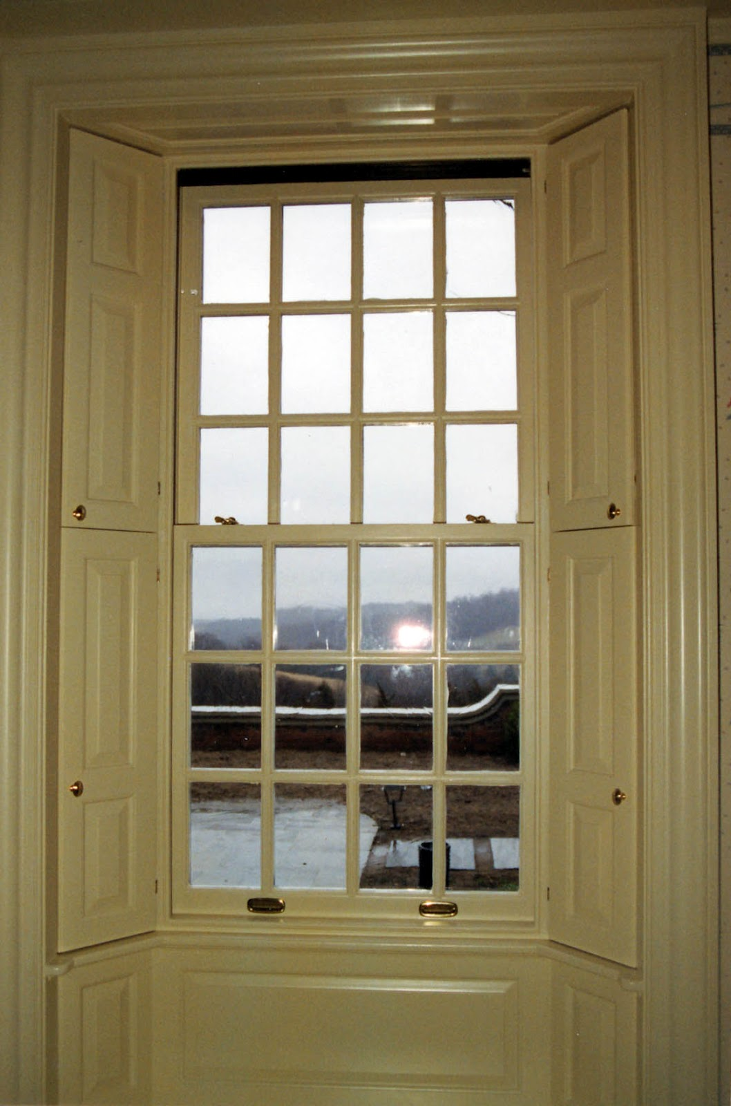 Cwm Woodwindows True Divided Light Antique Restoration Glass May 2012