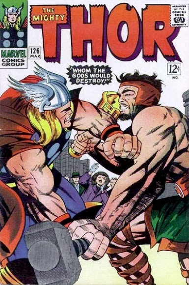 Thor #126 comic cover