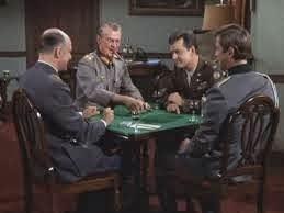 Hogans Heroes had a poker scene