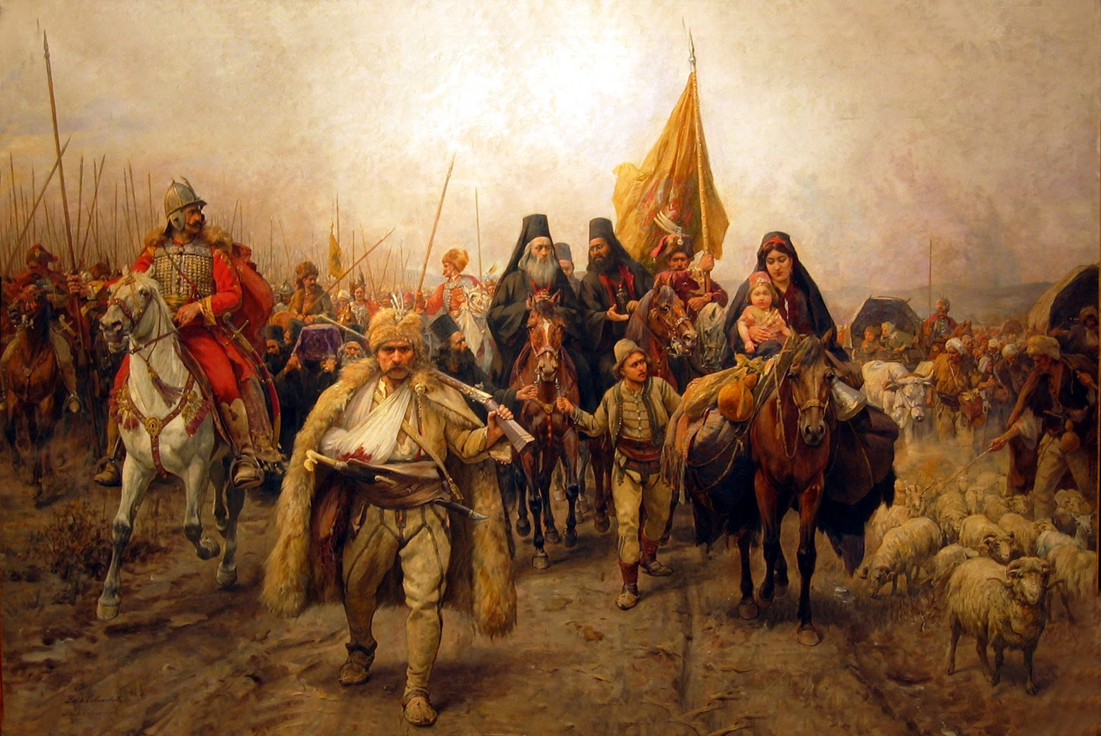 Migration of the serbs the first serbian migration occurred during