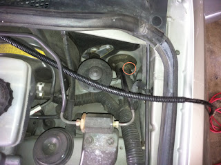 Lexus IS300 Running Power Wire For Amp Through Firewall Into Car