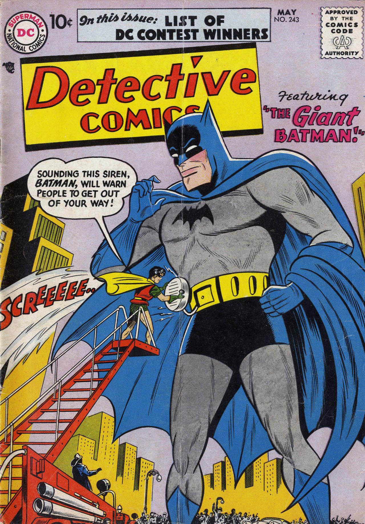 Detective Comics (1937) 243 Page 1