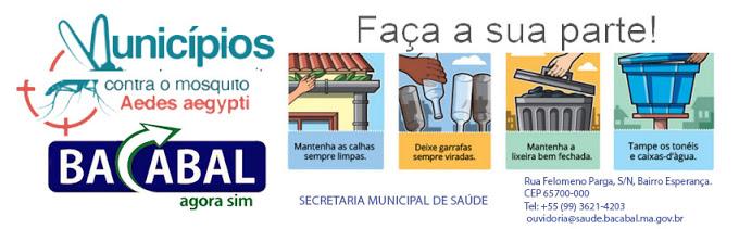 TODOS CONTRA O MOSQUITO DA DENGUE !